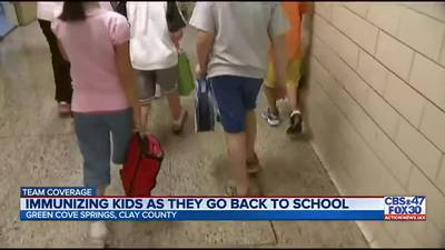 Department of Health in Clay County host Back-to-School Immunization Drive until end of the week