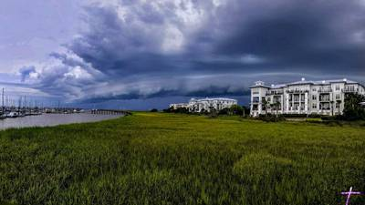 Storms in NE Florida June 25, 2020